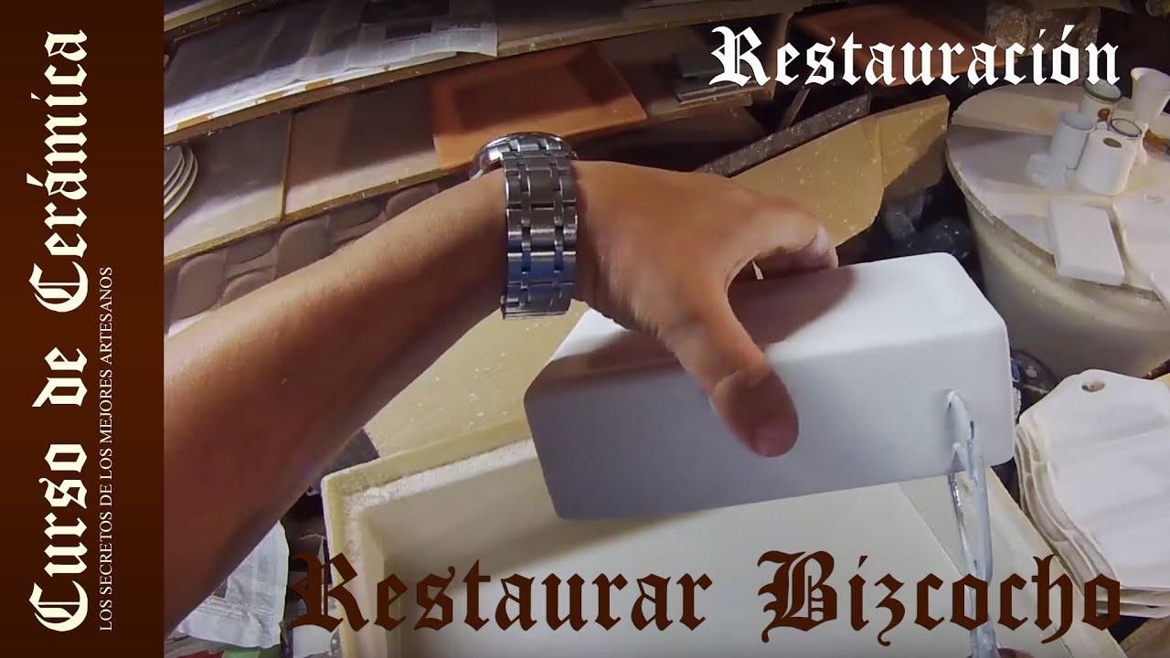 Curso de cer mica restaurar o limpiar bizcochos youtube for Bizcochos de ceramica