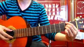 สอน guitar intro เพลง ของขวัญ Musketeers by Zaadoat