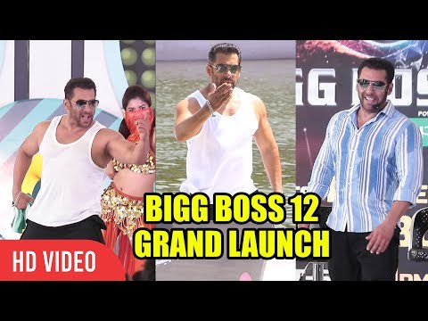 UNCUT - Bigg Boss Season 12 GRAND Launch In Goa | FULL VIDEO | Salman Khan