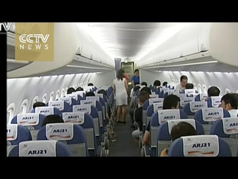Download Youtube: China's 1st home-developed jet to be used nationwide