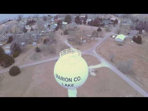 water tower-marion lake and park-marion, ks-mavic