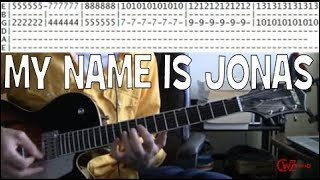 guitar lessons online Weezer my name is jonas tab