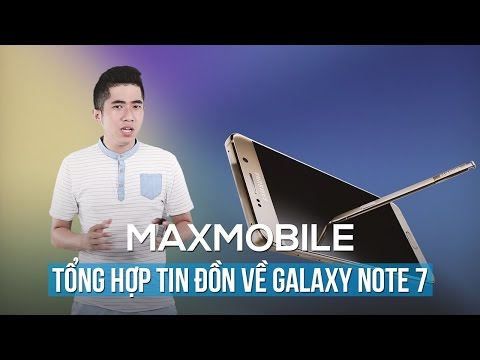 Galaxy Note 7 sẽ có 3 màu, màn hình cong hai cạnh, dày hơn và nhẹ hơn Galaxy Note 5