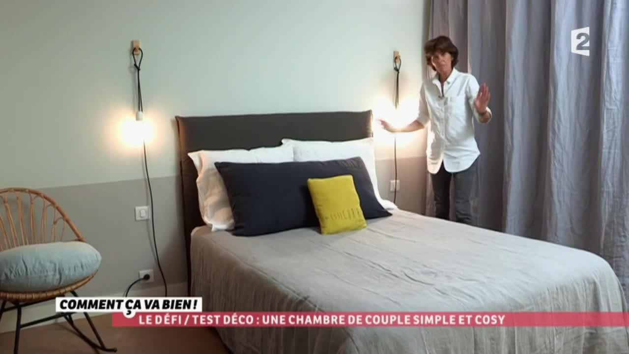Agreable [DÉCO] Une Chambre De Couple Simple Et Cosy #CCVB   YouTube