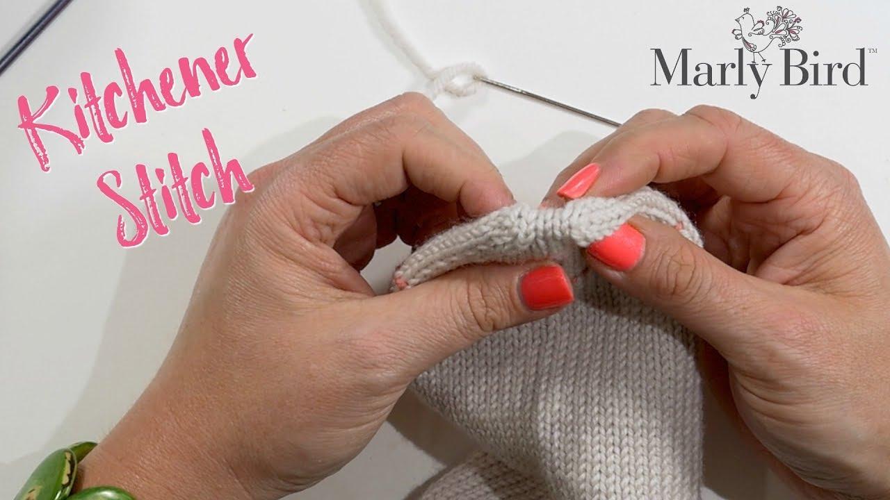 How to Kitchener Stitch