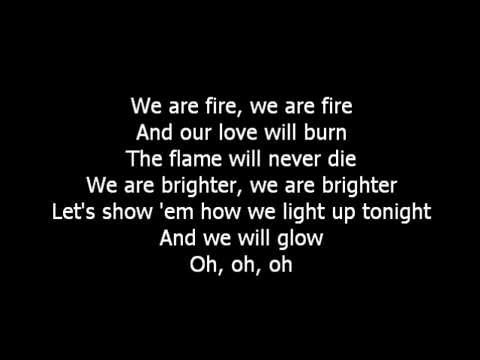 The Script - Glowing Lyrics | MetroLyrics