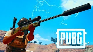 ДУО : AWM + 15X + ГЛУШИТЕЛЬ / М24 + 8X + МАСХАЛАТ / ЖАРКИЙ ТОП 1 В PLAYERUNKNOWNS BATTLEGROUNDS !