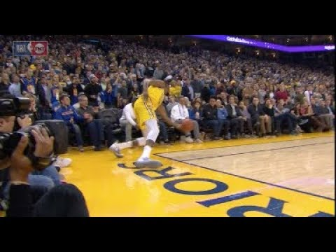 54b81ed689c0 Kevin Durant May Have Gotten Away With The Most Blatant Out Of Bounds Call  vs. Rockets