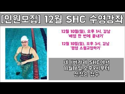 SHC 수영_12월 수영강좌 인원모집 안내영상