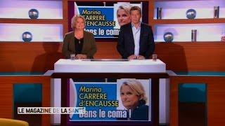 Brûlée vive, dans le coma, Marina Carrère d'Encausse présente quand même le Magazine de la santé