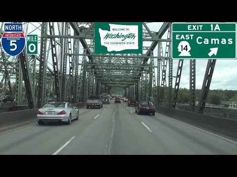Interstate 5 North in Vancouver, Washington