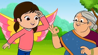 Chun Chun Karti Aayi Chidiya - Nani Teri Morni Ko -  FunForKidsTV - Hindi Rhymes
