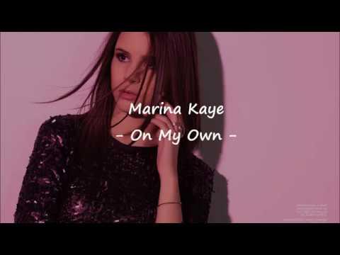 Marina Kaye - On my own - Lyrics et Traduction