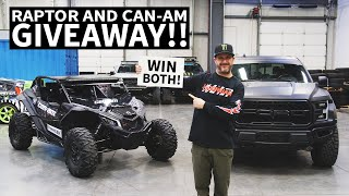 ken-block-and-omaze-want-you-to-win-a-ford-f-150-raptor-can-am-maverick-atv