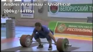 Heaviest Snatches (99kg-110kg)