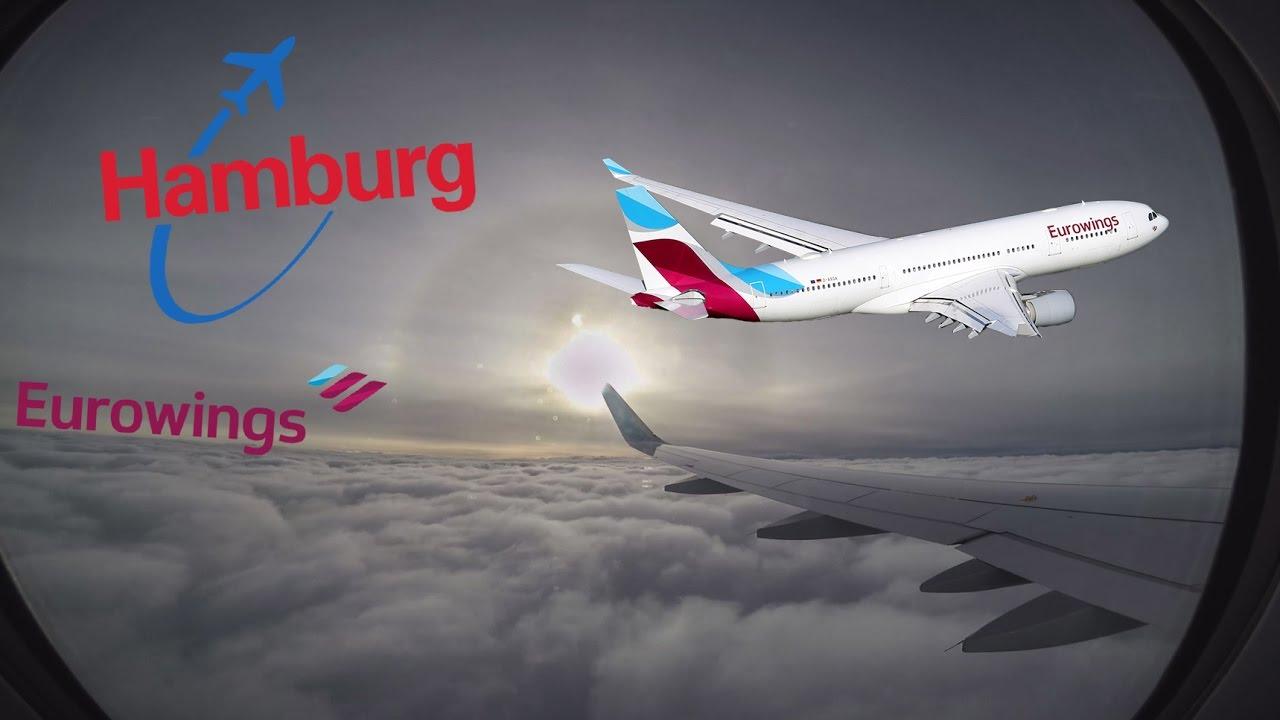 Flug Von Hamburg Nach Düsseldorf Gopro Hero 5 Youtube