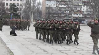 Марш гвардейцев и провокатор