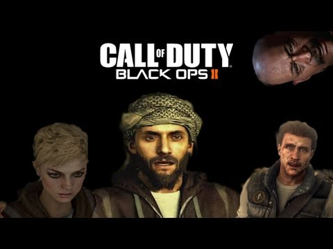 Call Of Duty: Black Ops 2 - Farid, Harper & Karma Alive Glitch & Secret Admiral Briggs Choice