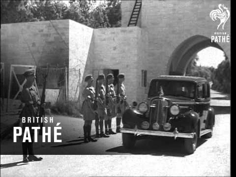 British Troops In Palestine (1946)