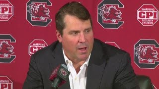 Will Muschamp Gives Update On Ortre Smith And Going Up Against Kentucky
