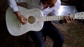 Công nghệ in 3d chế tạo một chiếc đàn Guitar