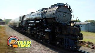TRAIN TIME - UNION PACIFIC CHALLENGER - Choo Choo Bob Show