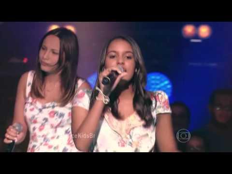 Ana Pieri, Abgail Barcelos e Isadora Porto cantam 'Além do Horizonte' no The Voice Kids -Batalhas