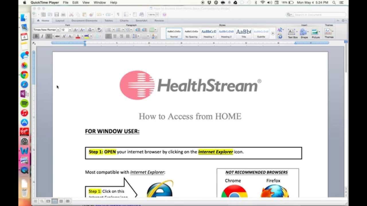 uhs healthstream