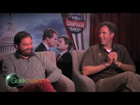 Will Ferrell, Zach Galifianakis interview - THE CAMPAIGN - Dylan McDermott, Jay Roach Mp3