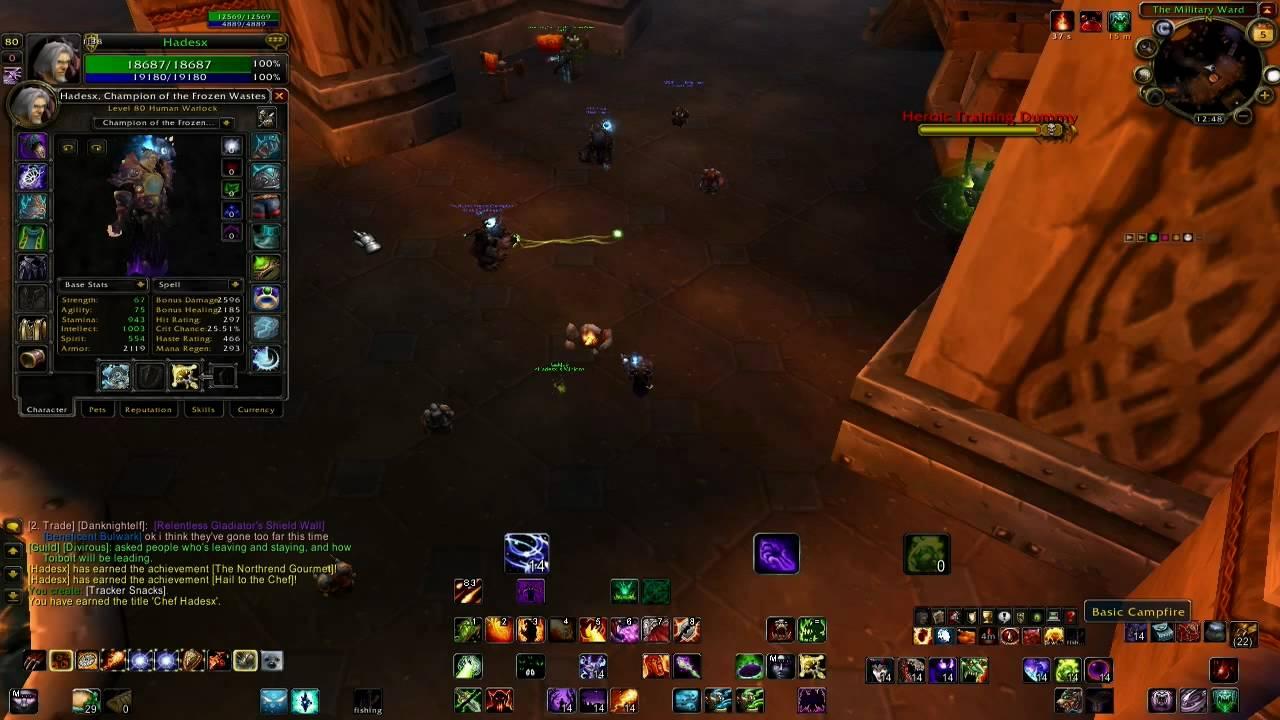 Chef title World of Warcraft