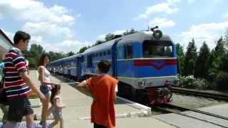 Детская железная дорога в Запорожье