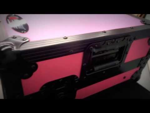 Pioneer DDJ-RX / DDJ-SX / DDJ-SX2 / DDJ-SX3 Custom Hot Pink Case by Odyssey
