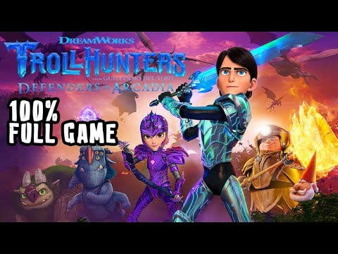 Download Trollhunters: Defenders of Arcadia FULL GAME 100% Longplay (PS4, XB1, Switch)