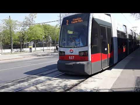 Straßenbahn D 1 2 49 71 Bus 48a In Volkstheater Wien Youtube