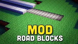 Minecraft: MOD - Road Blocks - CARRETERAS RÁPIDAS - 1.8
