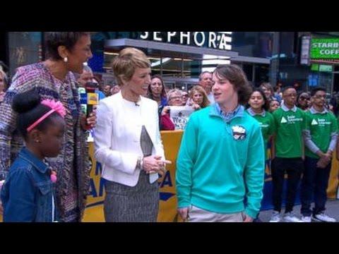 Shark Tank Kid CEOs Mikaila Ulmer, Ryan Kelly  on GMA