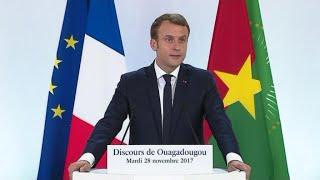Emmanuel Macron ouvert sur l'avenir du franc CFA