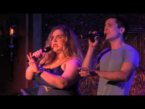 "Bonnie Milligan & Matt Doyle - ""Tell Him"" (Barbra Streisand/Celine Dion)"