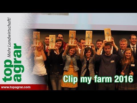 """top agrar-Videowettbewerb """"Clip my farm"""": Preisverleihung 2016 Grüne Woche"""