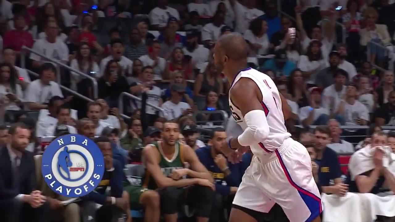 La Clippers Vs Utah Jazz Full Highlights Game 7 4 30 17 Youtube