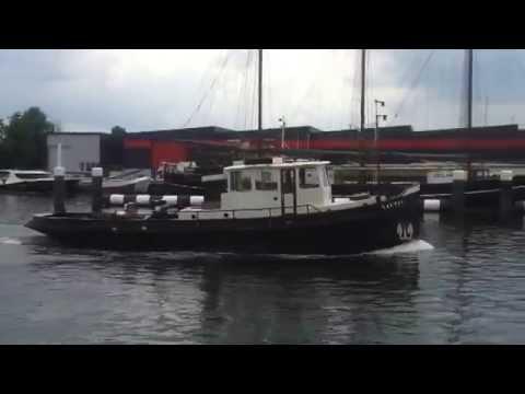 Tugboat for sale sleepboot nautic te koop youtube for Schapenboerderij te koop