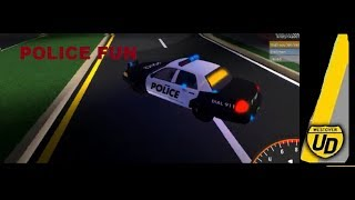 Roblox Ultimate Driving Westover Islands:#2 POLICE FUN!!!