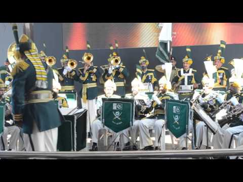Pakistan Army Band, Cape Town , Waterfront, 8th of November 2015