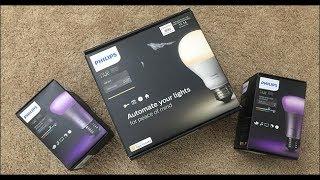 Philips Hue Tech Review  Smart Lighting!