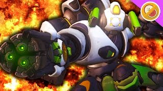 THE DPS TANK! ORISA ARRIVES | Overwatch Gameplay