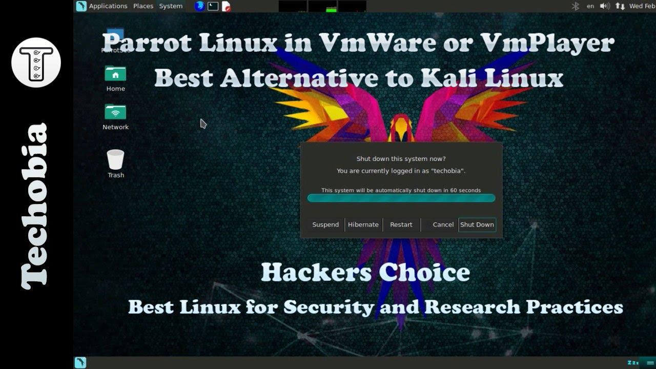 Installing Parrot Linux in VMWare or VmPlayer | VmWare Tools