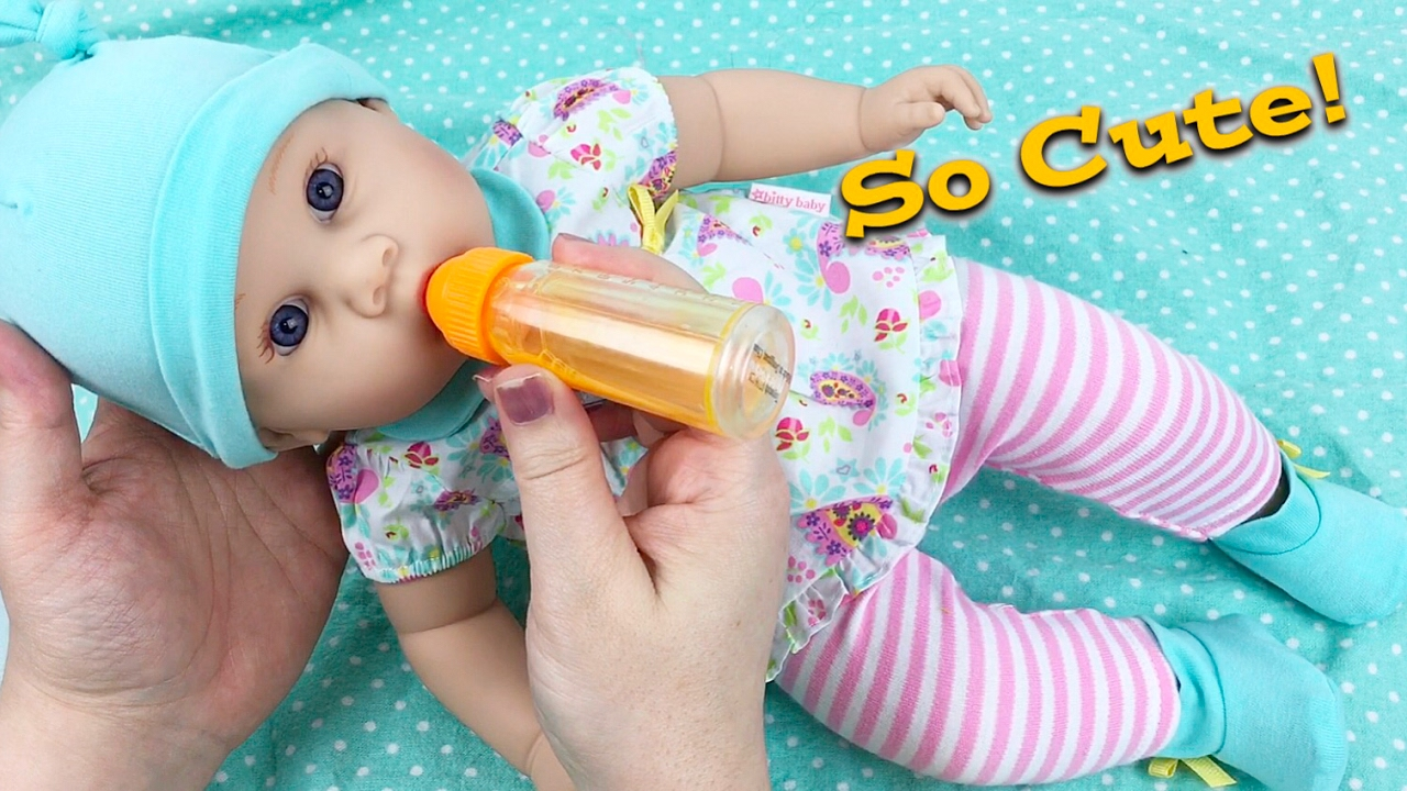 Middleton Newborn Baby Doll New Juice And Milk Bottles Bitty Outfit Changing Joovy Car Seat