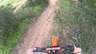Moto Cross Pit Bike 140c.c. AGB-34 [[GoPro Hero2 HD]]
