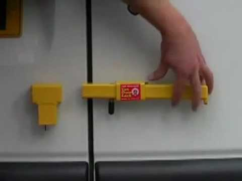Bulldog Secure Rear Van Door Lock Youtube
