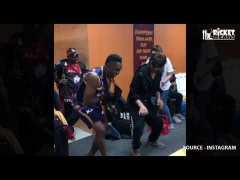 DJ Bravo dance with Shahrukh Khan Mp3